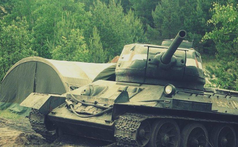 Kolejna atrakcja – czołg!